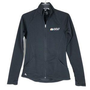Adidas NBC Golf full zip lightweight jacket